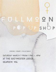 Full Moon Pop-Up Shop