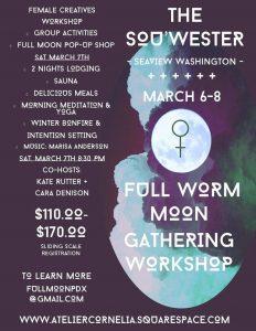 Atelier Cornelia / Heartcave Full Moon Gathering Workshop
