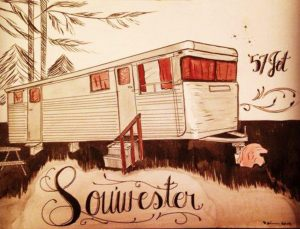 Vintage Travel Trailer Rally at the Sou'wester