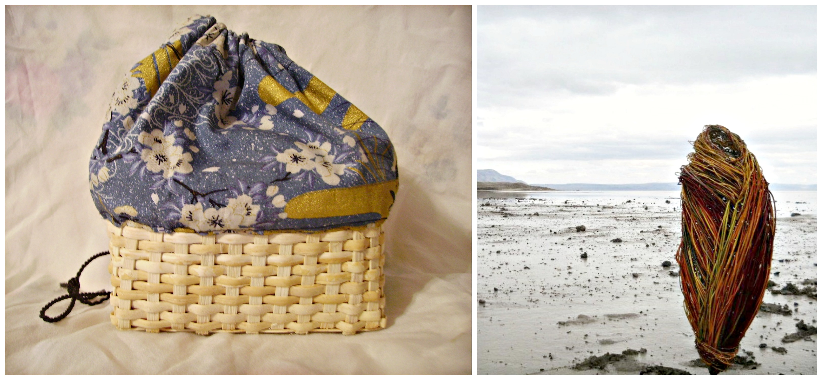 Kinchaku Kago: Japanese Basket Purse with Donna Crispin