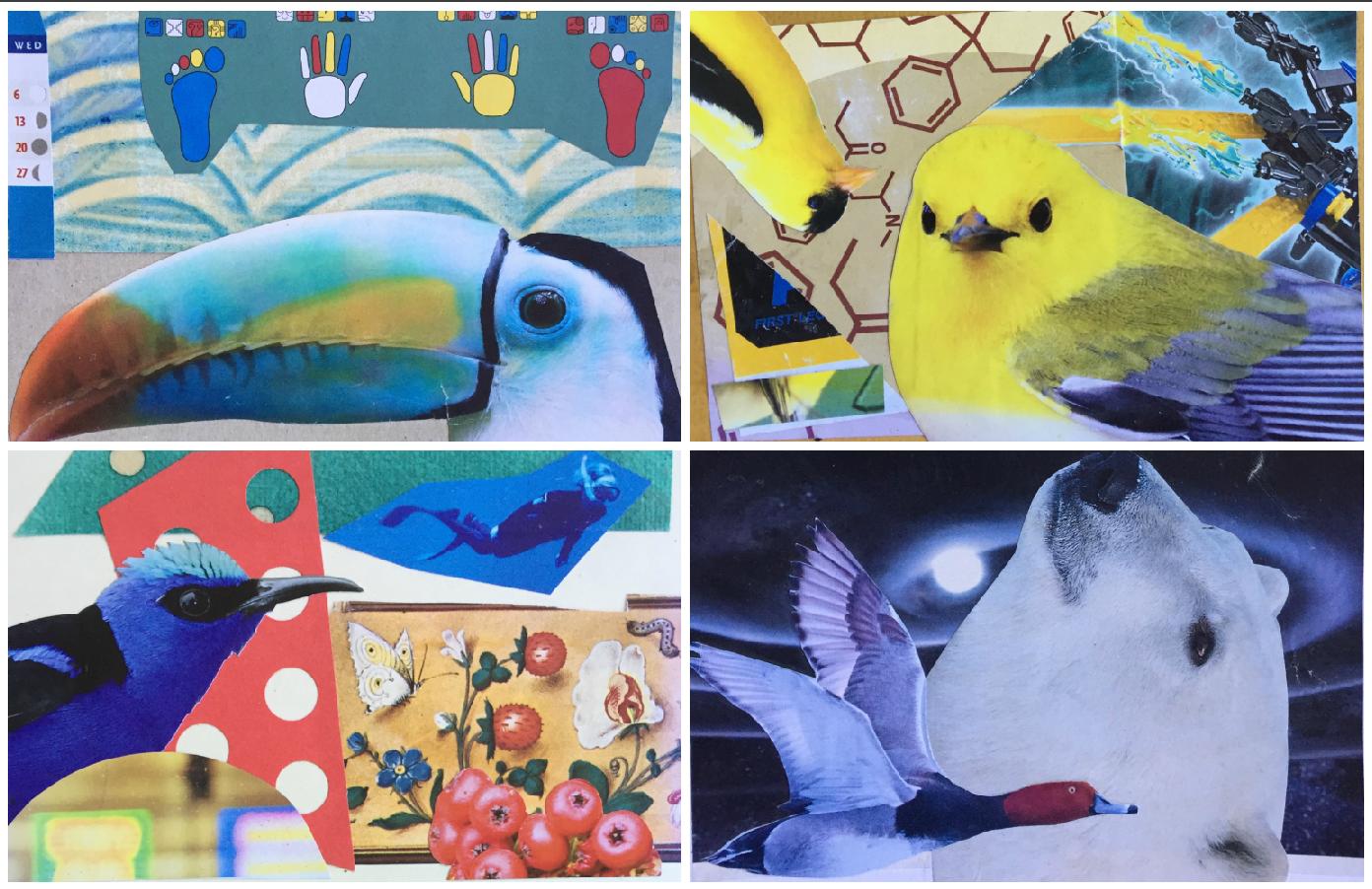 "Cut It Up Art Card Party: ""Put A Bird On It"" with Mark Elliott"
