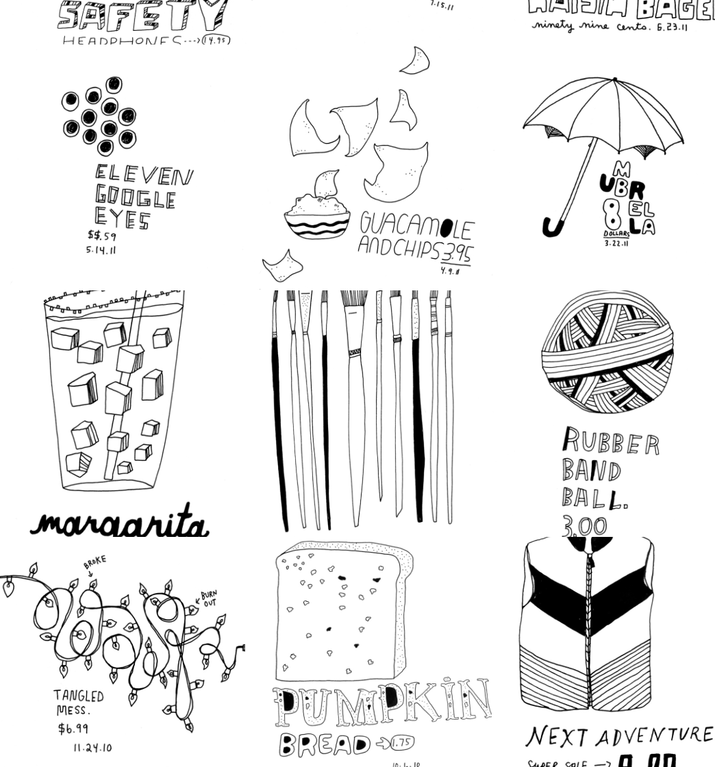 Objects / Belongings: Writing and Drawing about Our STUFF with Kate Bingaman-Burt