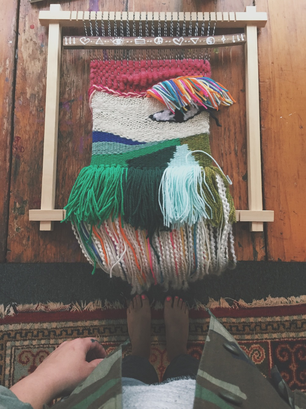 Busy Hands Quiet Minds: Weaving as Meditation with Samantha LaMont & Natalie Novak