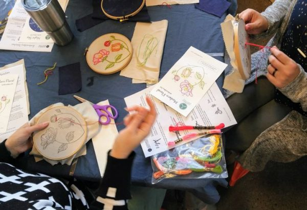 Beginner's Embroidery Workshop with Liz Wright