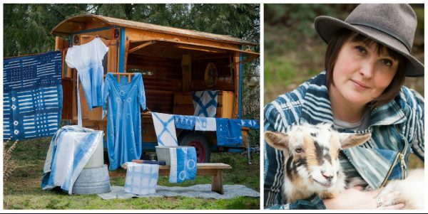 Shibori, Batik, & Dip-Dye Using All Natural Indigo with Carolyn Hopkins