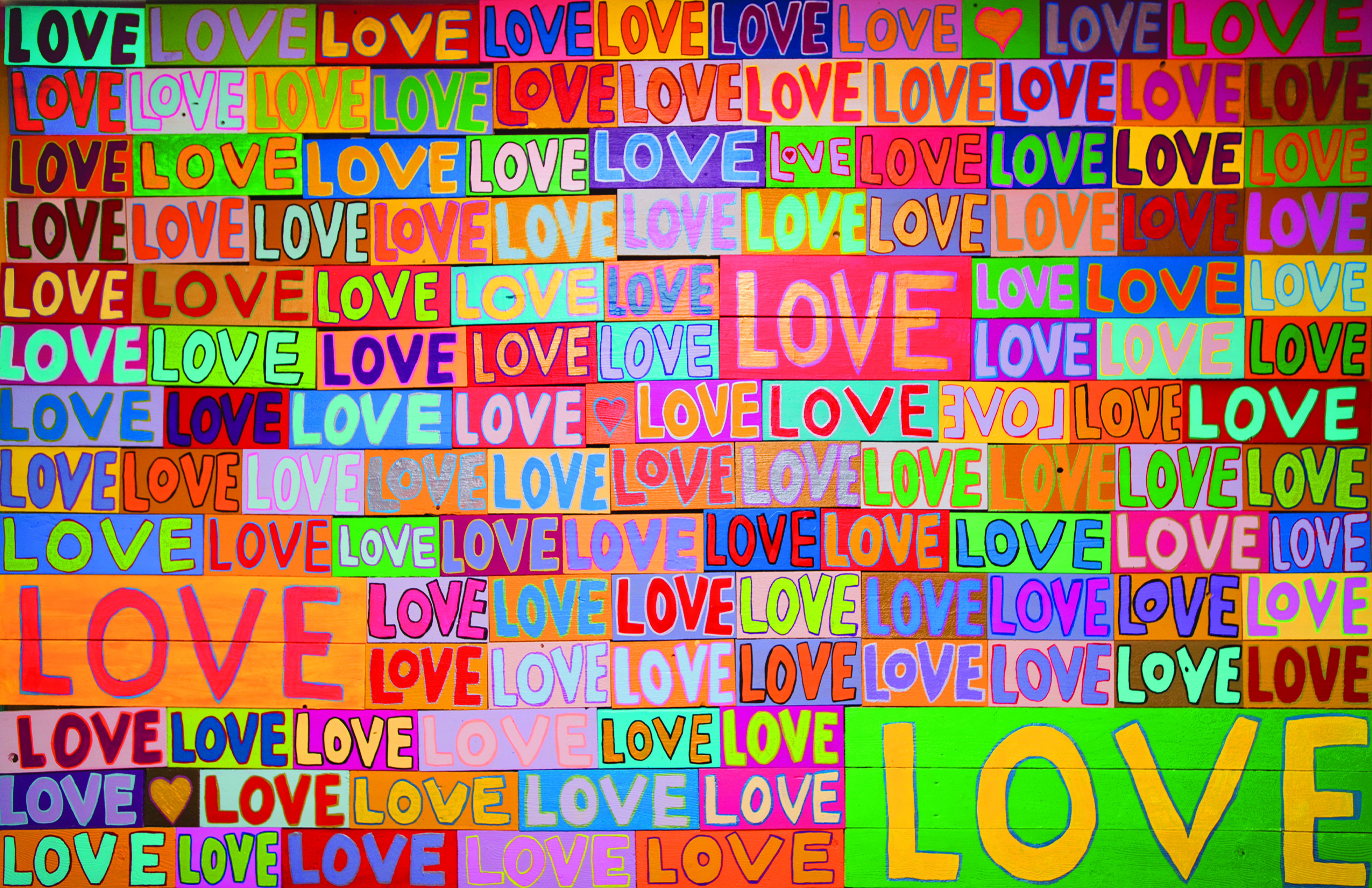 """Opening Reception """"what the world needs now is LOVE"""""""