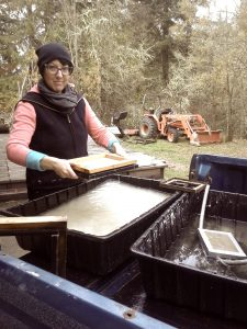 Hand Papermaking with Ivy & Joel Ricci