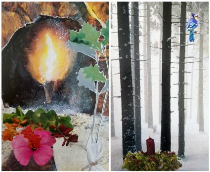 Winter Solstice SoulCollage®: Letting the Light Back In with Josephine Banks