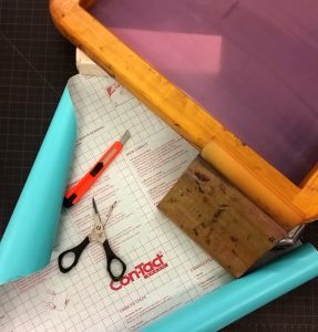 DIY Screen Printing with Contact Paper Stencils with Heather McLaughlin