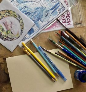 After-School Workshop: COMIC BOOKS AND ZINE MAKING with Kaitlyn Nelson @ Sou'Wester Arts & Ecology Center