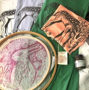 After-School Workshop: DIY SCREEN PRINTING with Kaitlyn Nelson @ Sou'Wester Arts & Ecology Center
